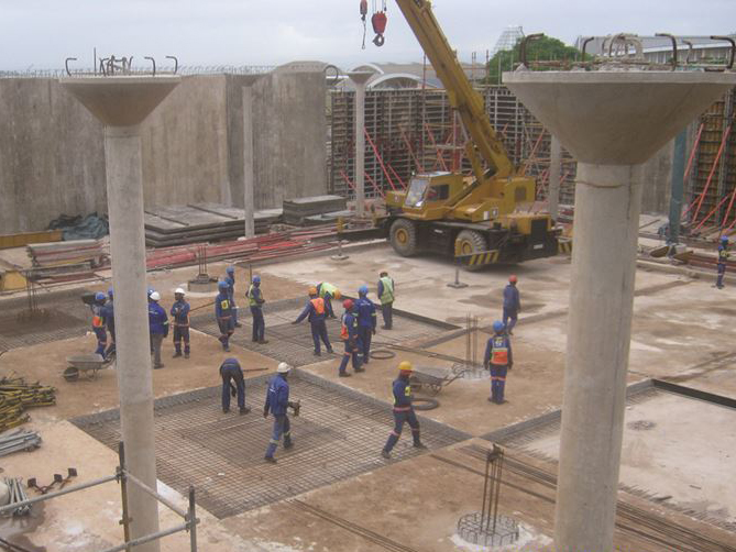 10-megalitre reinforced concrete reservoir constructed in Umhlanga